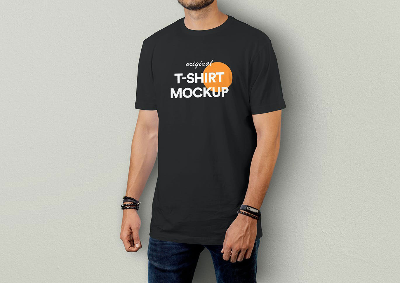 T Shirt Mockup Vol 09..