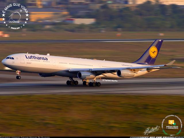 Lufthansa retoma a rota Rio de Janeiro — Frankfurt   É MAIS QUE VOAR