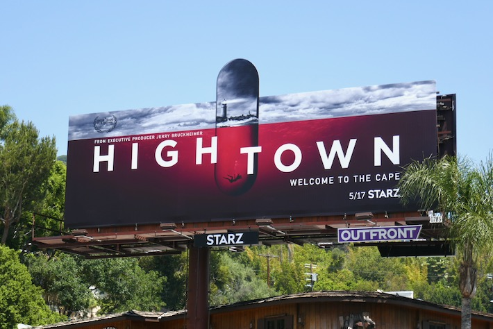 Hightown series premiere billboard