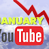 Why January 2017 Adsense Earnings are Low on YouTube