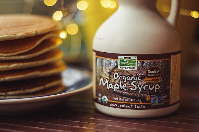 Кленовый сироп Now Foods, Real Food, Organic Maple Syrup, Grade A, Dark Color, 16 fl oz (473 ml