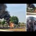 #BreakingNews   အျမန္လမ္း ၄ မိုင္ ၂ဖာလံု ဘုရားဖူးကား အံစာတံုးမီးလာင္ စုစုေပါင္း ၉ ဦးပါ ၈ ဦးေသ ၁ ဦးလြတ္ေျမာက္