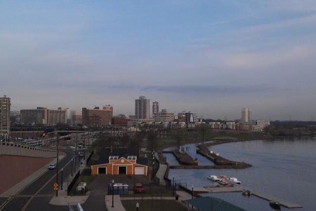 New Brunswick Skyline with Raritan River