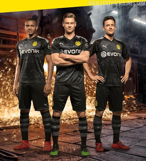 Borussia Dortmund 19-20 Away Kit Released - Footy Headlines