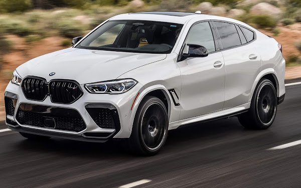 BMW X6 M Competition 2022 chega ao Brasil - preço R$ 986.950