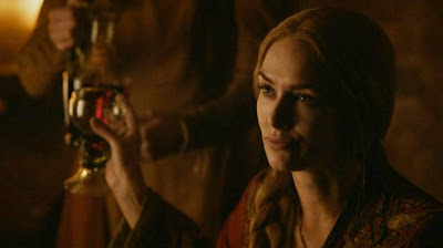 Queen Cersei drunk Game of Thrones