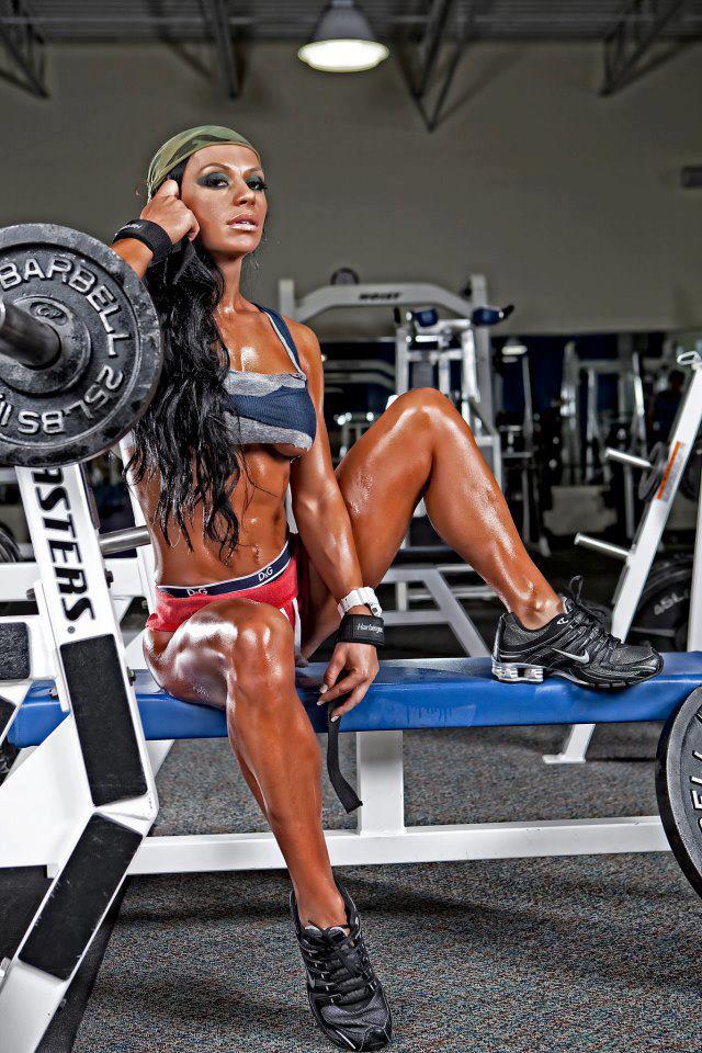 Lindas Mulheres Com Músculos