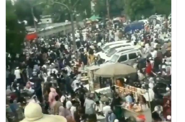 Haul Di Tangerang Sepelekan Prokes, Fadli Zon Colek Jokowi Dan Mahfud MD
