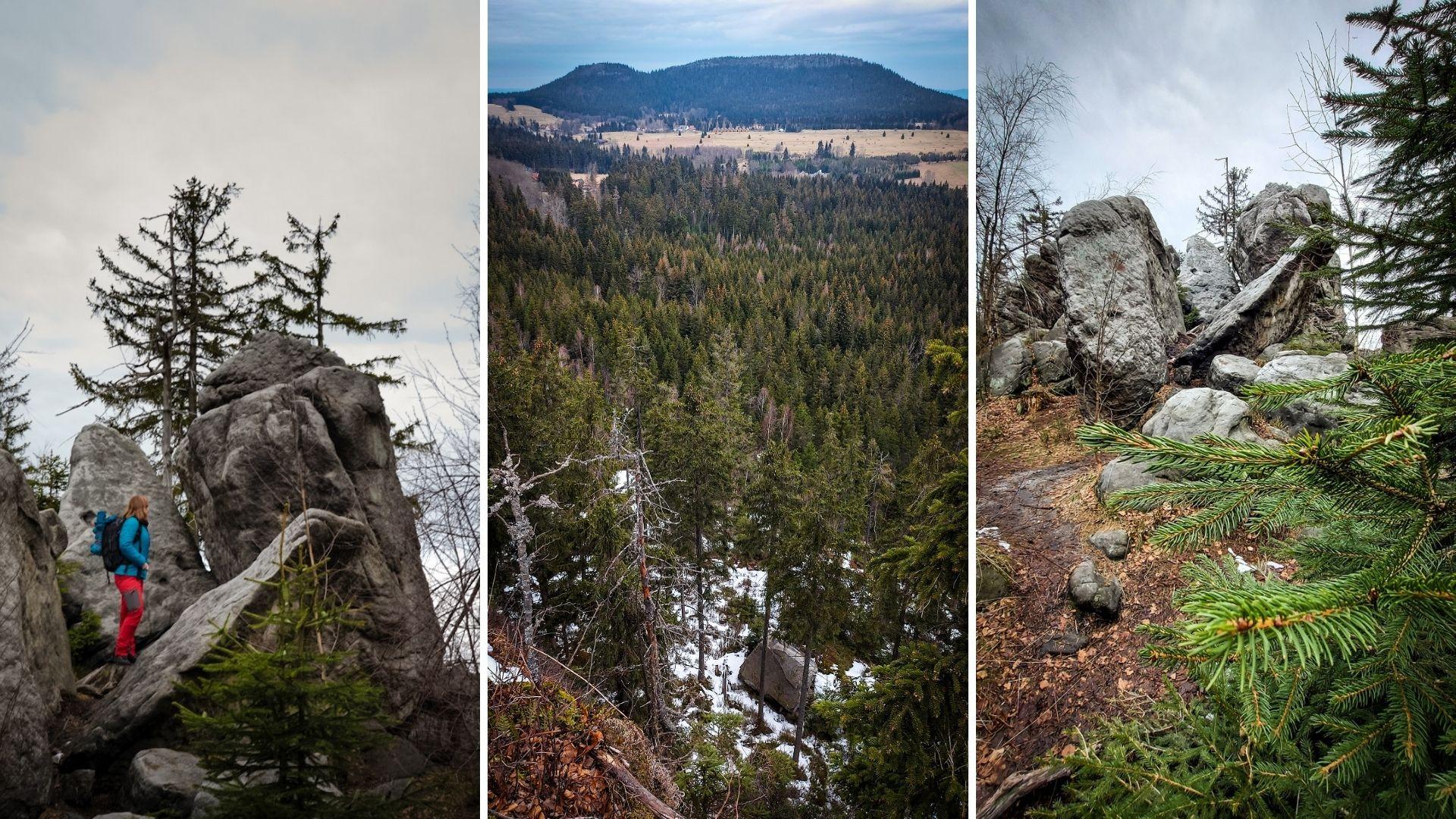 Szlaki w Górach Stołowych