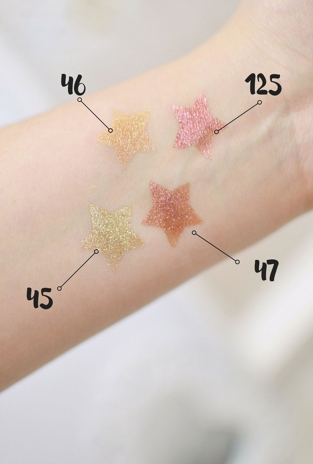 INGLOT kolekcja THE STAR IN YOU