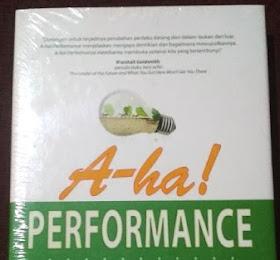 Jual Buku A-Ha! Performance <del>Rp120.000</del> <price>Rp93.000</price> <code>BKT-005</code>