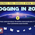 15 Things You Should You Know Before Blogging in 2020 #infographic