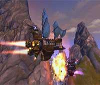 لعبة قراصنة الغيمة وحرب السفن