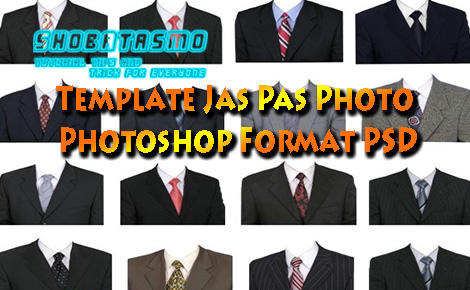 Template Jas Pas Photo Photoshop