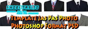 22 Template Jas Pas Photo Photoshop Format PSD, Tinggal Pakai