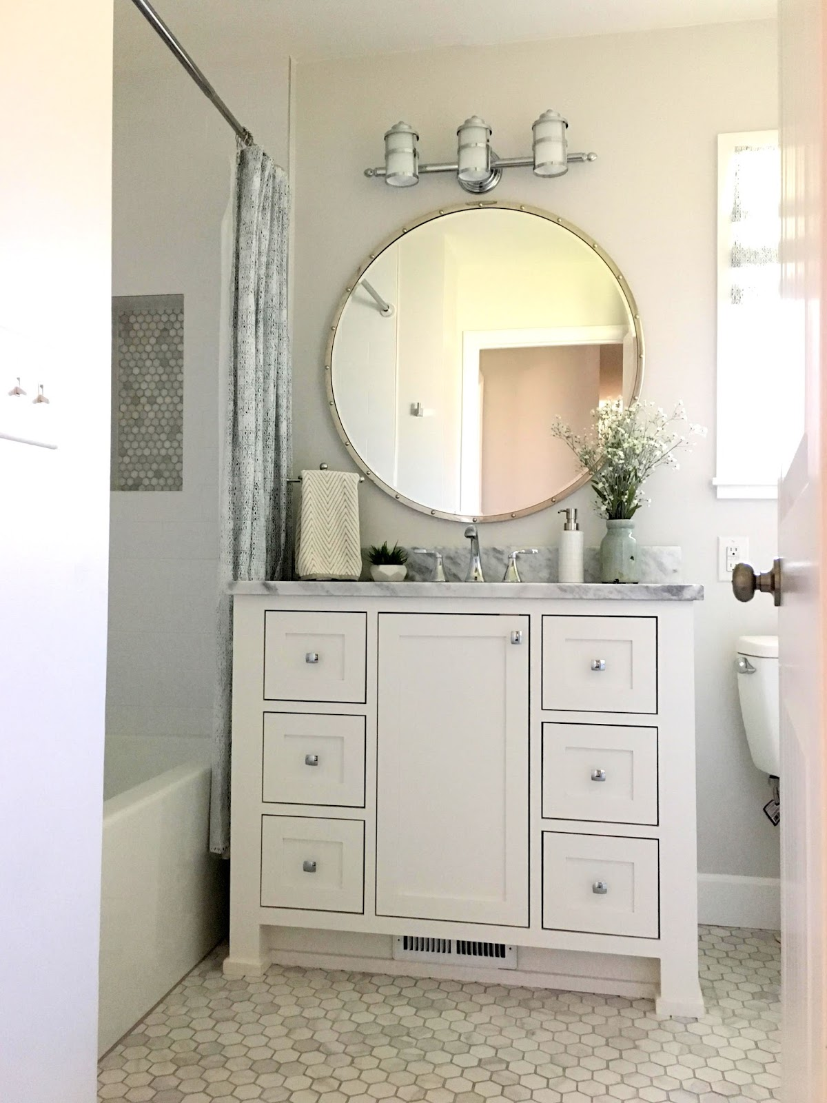 Studio 7 Interior Design: Client Reveal: Main Level Bath