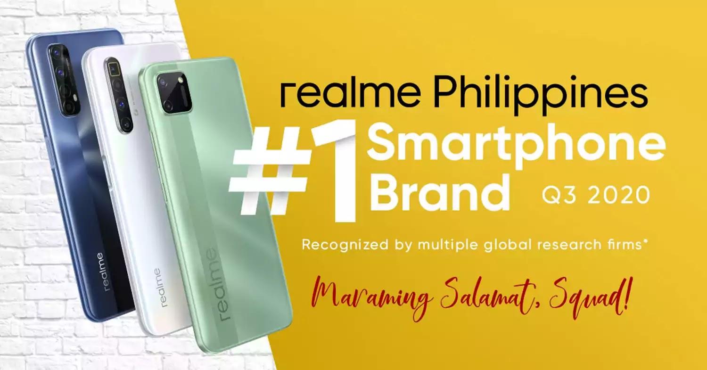 realme grabs PH top 1 smartphone brand