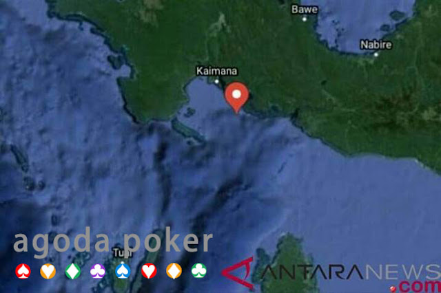 BANDARQ TERBAIK – Gempa 2,9 SR Guncang Kaimana