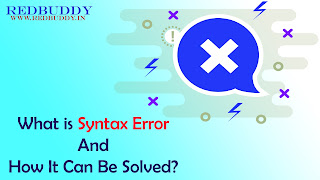 What is Syntax Error And How It Can Be Solved?