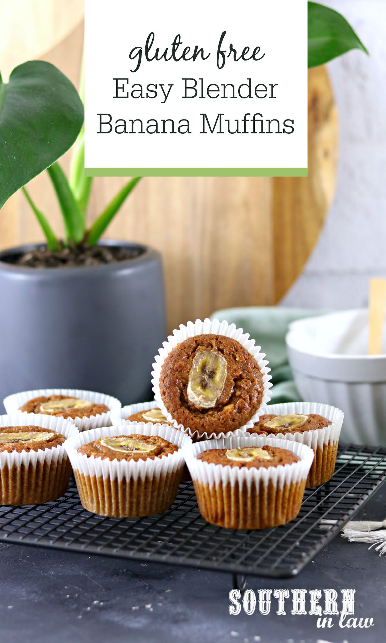 Southern In Law Recipe Easy Blender Banana Muffins Gluten Free