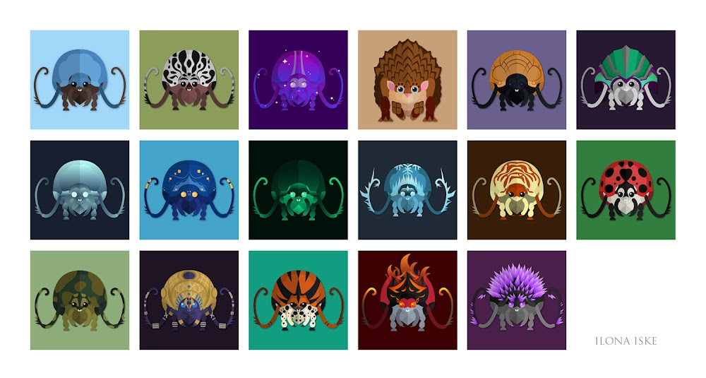 Guild Wars 2 - Mount Icons