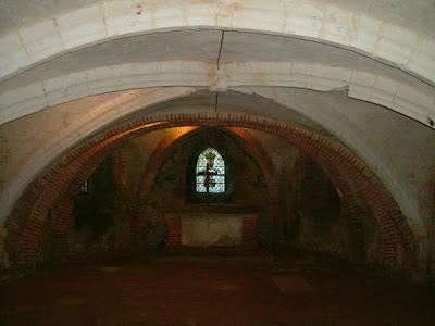 Crypte de l'église de Saint-Saire
