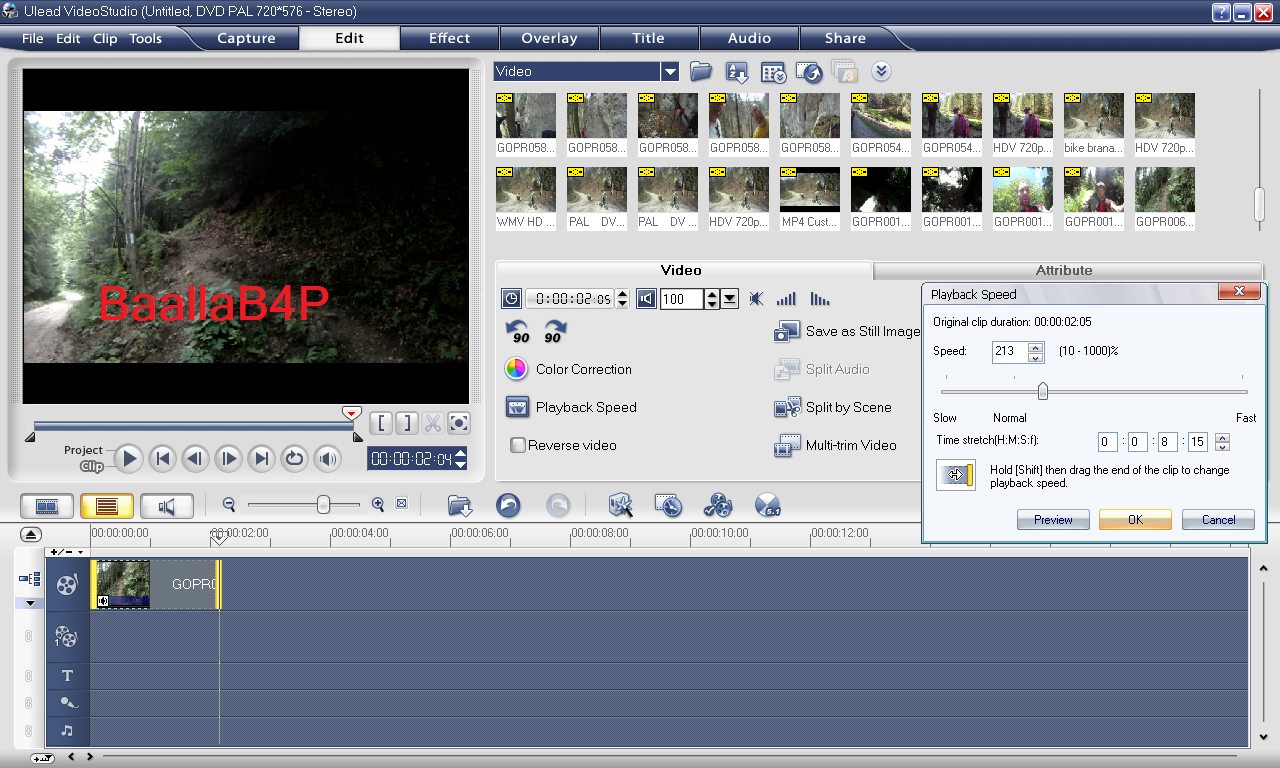 تحميل برنامج Ulead video studio 11 plus   مدونة بعلى للاحتراف