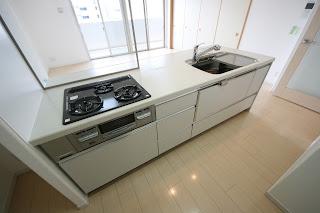 徳島市 東新町 アルファステイツ 分譲 賃貸 3LDK キッチン