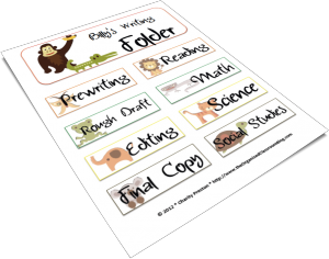 Want your own set of free folder labels?