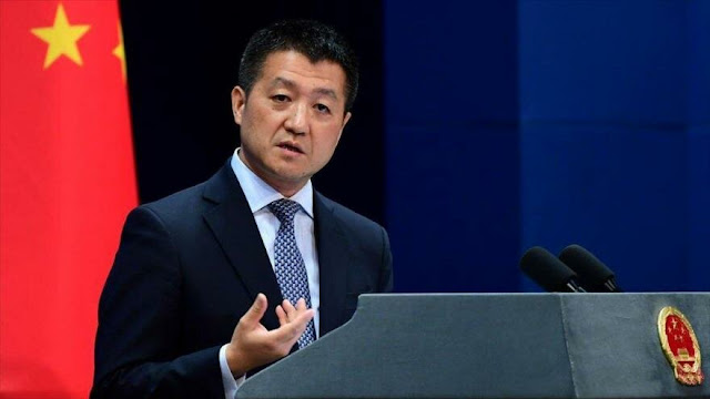 China protesta por reunión de Bolton con funcionario de Taiwán