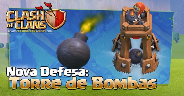 Nova defesa Torre de Bombas