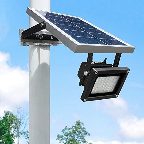 أفضل كشافات كبيرة الطاقة الشمسية خارجية لعام 2020 للملاعب و الإنارة و للتخييم