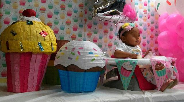 First Birthday Cupcake Decorating Ideas