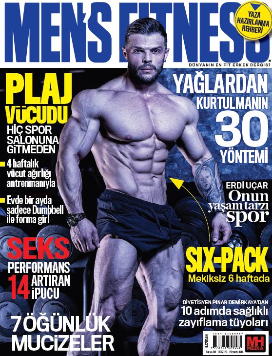 Men's Fitness Haziran 2021 Dergi PDF indir