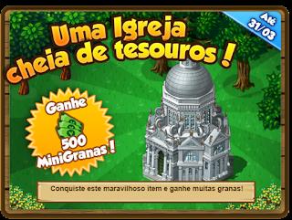 Missão: Uma Igreja cheia de tesouros!
