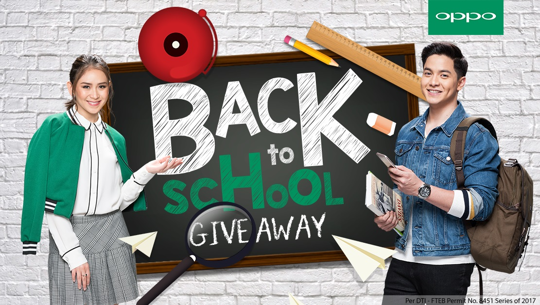 OPPO Back to School Online Giveaway