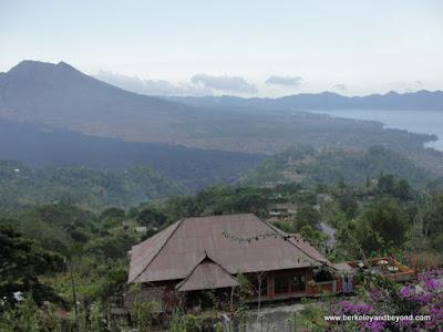 Mount Batur volcano and Lake Tegalalang in Bali, Indonesia