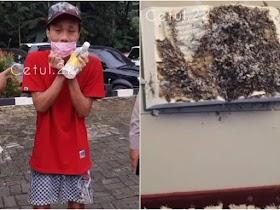 Sosok Pembakar Alquran di Serang Banten, Tulis 'Jaringan Islam Liberal' di Tembok Masjid
