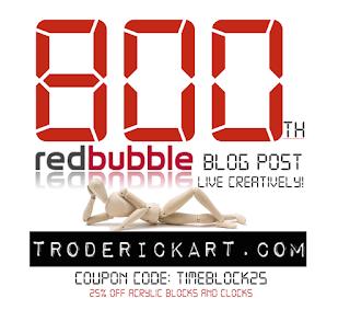 coupon code TIMEBLOCKS troderickart.com