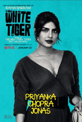 The White Tiger (2021) [Hindi 5.1ch] 1080p WEB HDRip ESub x265 HEVC
