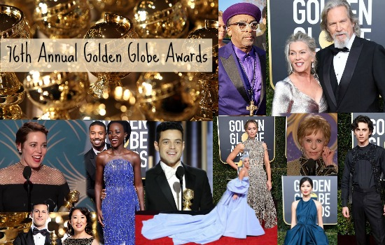 Recap of the Hollywood Foreign Press Assoc Awards 76th Golden Globes