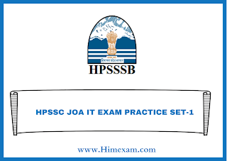HPSSC JOA IT EXAM PRACTICE SET-1