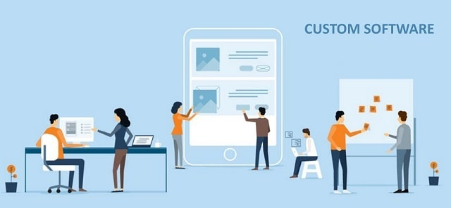 pros cons custom business software advantages customized programs