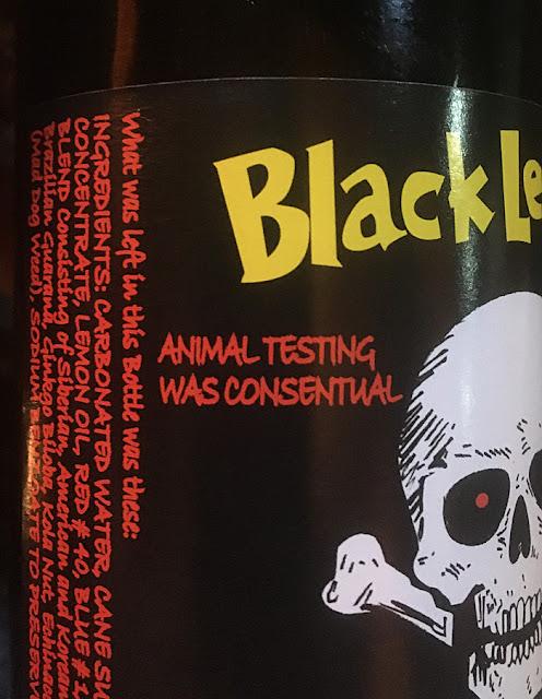 Black Lemonade Private Reserve Soda