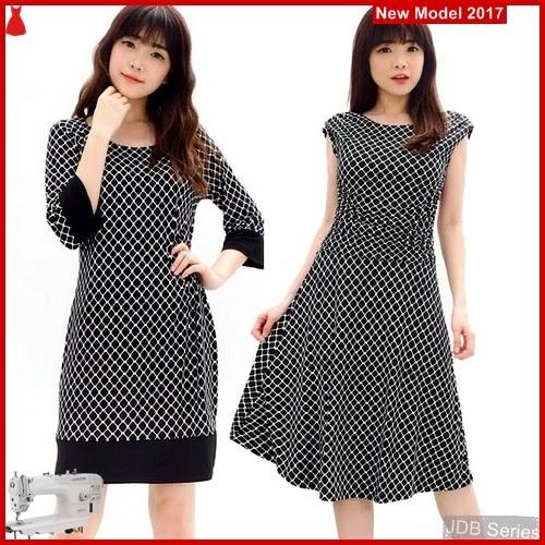 JDB131 FASHION Dress Enfocus Perempuan BMGShop