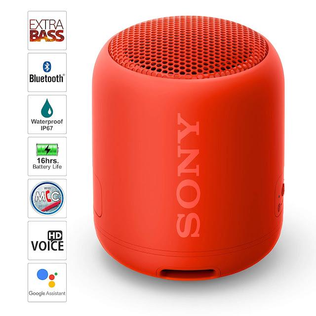 Sony Waterproof Wireless Speaker SRS-XB12 Extra Bass Portable   My Fashion Agora