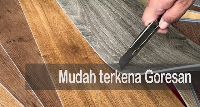 kelebihan dan kekurangan lantai vinyl motif kayu
