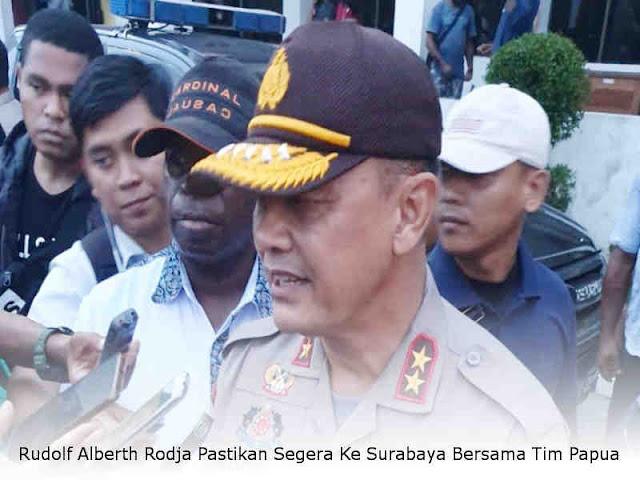 Rudolf Alberth Rodja Pastikan Segera Ke Surabaya Bersama Tim Papua