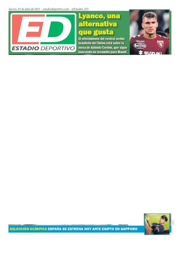 """Betis, Estadio Deportivo: """"Lyanco, una alternativa que gusta"""""""