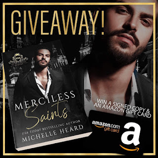 Michelle Heard gift card and paperback giveaway